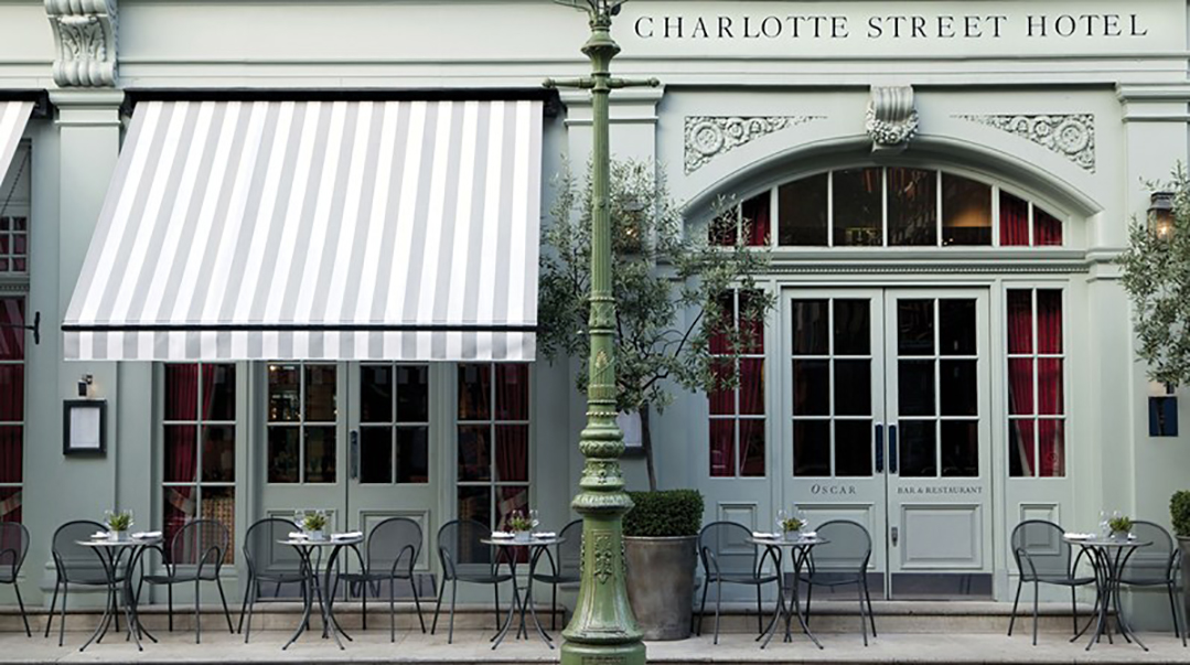 Charlotte Street Hotel London Restaurant