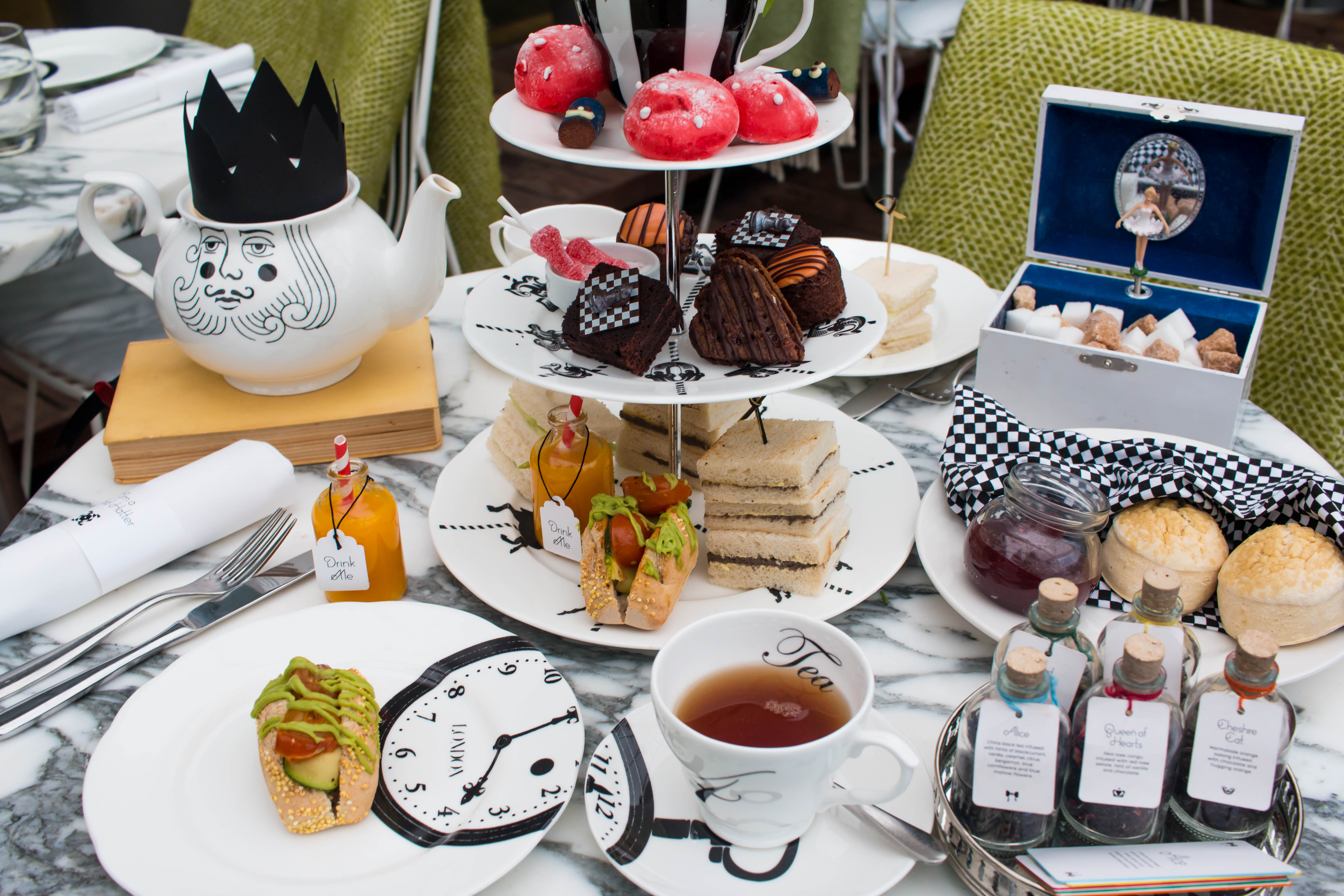 The Ultimate Vegan Afternoon Tea – Mad Hatter s Style - Oxford Street 6e43a06bd86