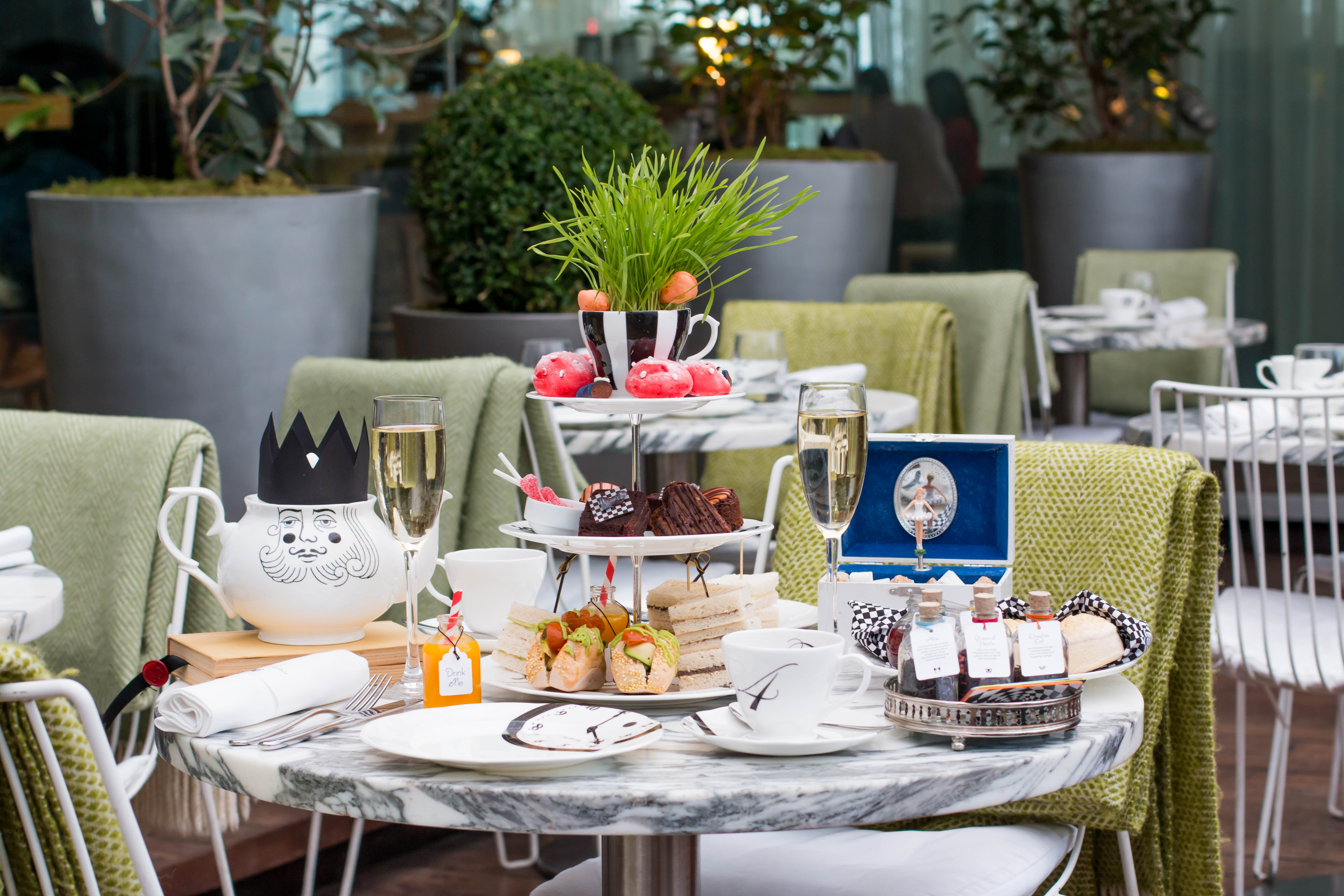 The Ultimate Vegan Afternoon Tea Mad Hatter S Style