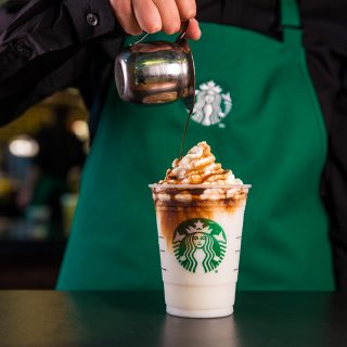 Affogato style Frappuccino photographed on Monday, June 27, 2016. (Joshua Trujillo, Starbucks)