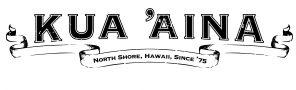 Kua Aina Logo B&W