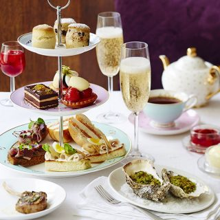 S&B Tea Rooms Champagne Afternoon Tea -web