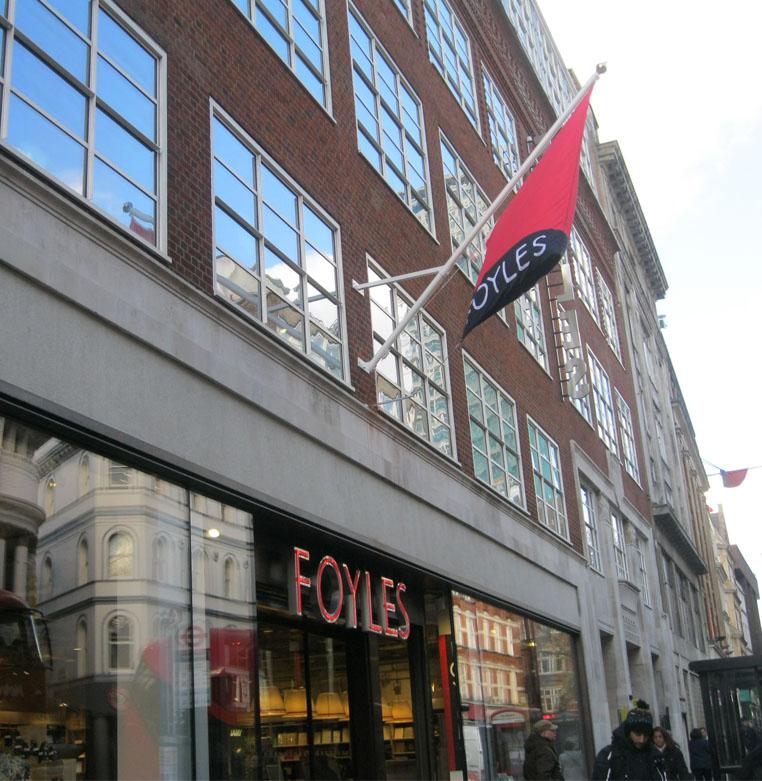 Foyles Cafe Opening Hours