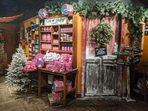 Lush christmas shops