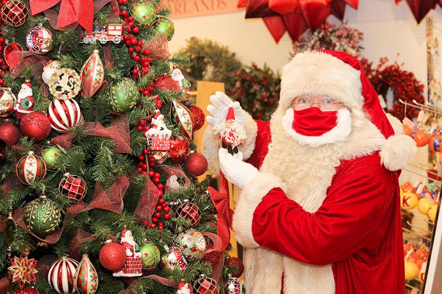 Christmas shops in London, Santa