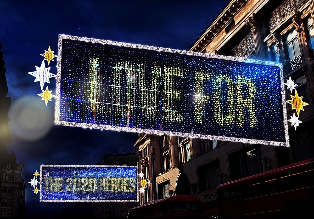 celebrating Christmas, Oxford Street Christmas Lights