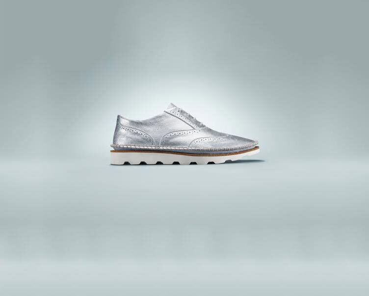 clarks-silver-shoes